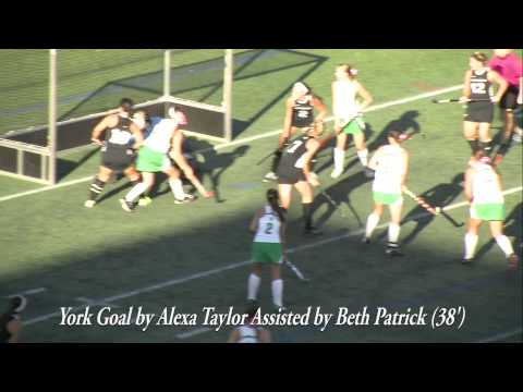 Stevenson Field Hockey vs York Highlights