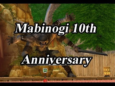 Mabinogi 10th Anniversary Event [Re-Upload]