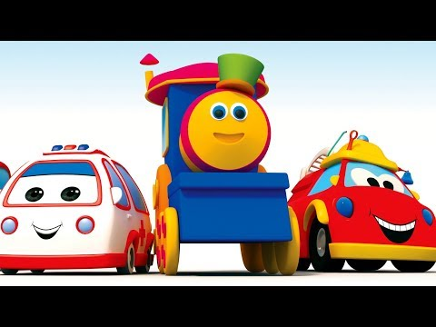 Bob The Train Cartoon Shows | Nursery Rhyme Videos