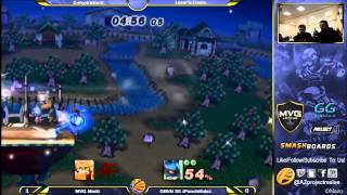 Amazing Loser's Finals Between iPunchKidsz's Lucario and MVG Medz's Fox