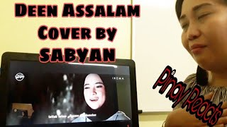 Video Deen Assalam Cover by Sabyan - Filipina Reaction MP3, 3GP, MP4, WEBM, AVI, FLV Agustus 2018