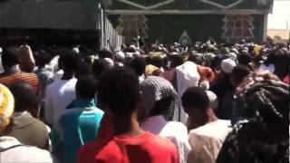 Part 3 - Awolia Compound - Ethiopian Muslims Demonstrating Against Majlis&ahbash - Jan'20/2012