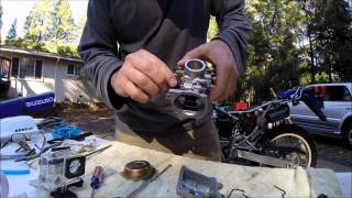 4. 2006 Suzuki DR200SE Carb Cleaning for Beginners