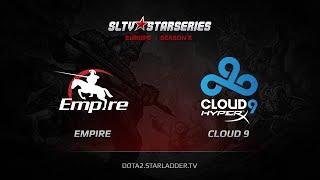Cloud9 vs Empire, game 1
