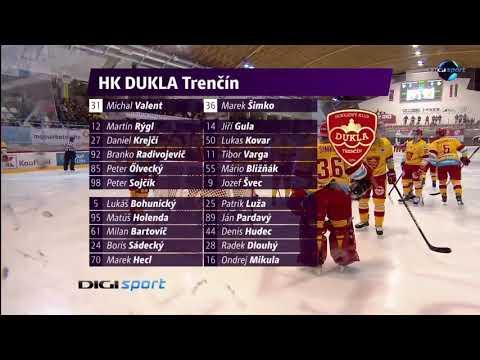21. forduló: DVTK Jegesmedvék - Dukla Trencin 3-2