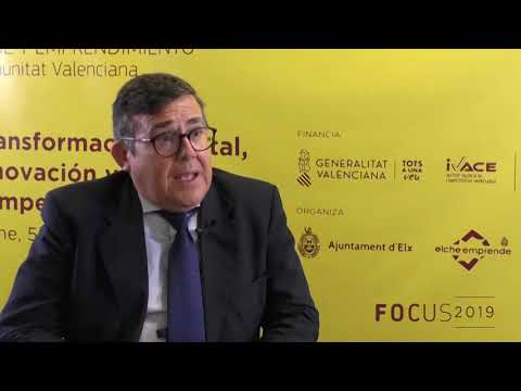 Rafael Escamilla de IVACE en Focus Pyme CV 2019