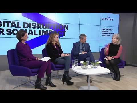 WEF 18   Accenture: Digital disruption for social impact