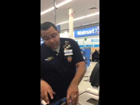 Everybody wants this cashier to check them out!