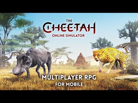 🐾👍The Cheetah Simulator-Online Multiplayer-Симулятор гепарда онлайн- By Swift Apps LTD-Android