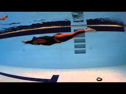 NTX : Freediving Diagnostics : Dynamic turns (видео)