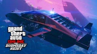 U-Boot Heist, Unterwasser-Auto und Schatzsuche (Double-Action-Revolver) | GTA Online Doomsday Heists