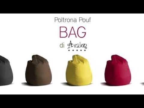Poltrona sacco Pouf di Avalon Bag