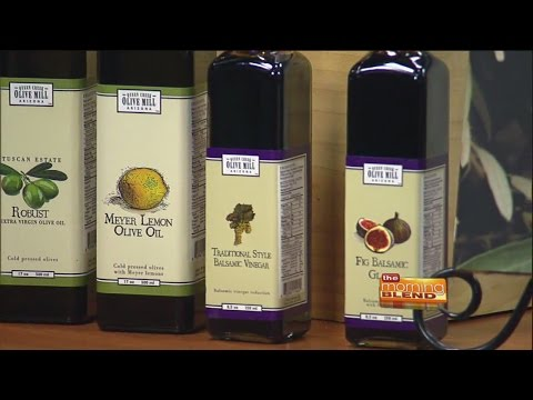 Queen Creek Olive Mill - Family Cookbook using olives and olive oil products