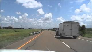 Victoria (TX) United States  city pictures gallery : Driving Time-lapse: Highway US 59 from Victoria to Edna, TX.