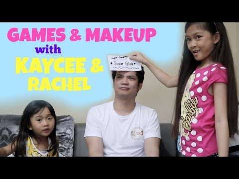 GAMES & MAKEUP With KAYCEE & RACHEL