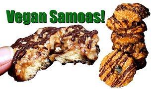 Vegan Samoas~ Girl Scout Copy Cat Recipe by Gretchen's Bakery