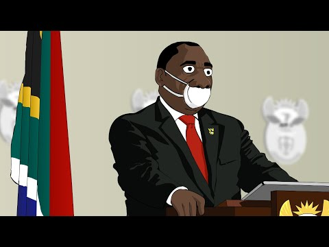 Mzansi's Got Magic - South Africa's Soldiers Under Lockdown (Animated Parody)