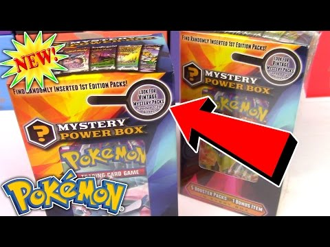 Opening the NEW MYSTERY POWER BOX 3 Pokemon Card Opening (видео)