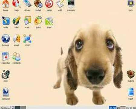 """Puppy Linux"" (Martyn Cruise, 2006)"