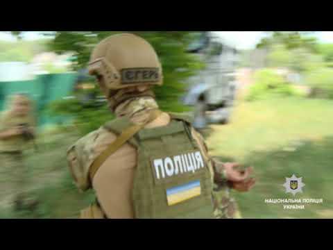 Поліцейські Житомирщини взяли участь у масштабних антитерористичних навчаннях