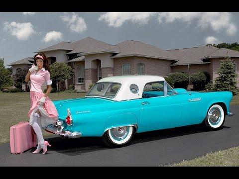 Тест-драйв раритетного Ford ThunderBird 1955