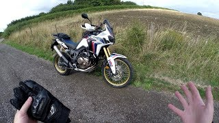 9. Review of Avon's TrailRider tyres for the Honda Africa Twin CRF1000L