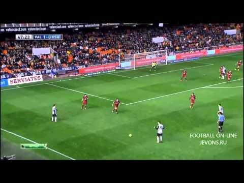 Valencia vs Osasuna 3-0 ~ All Goals & Full Highlights 720p HD (1/112/2013)