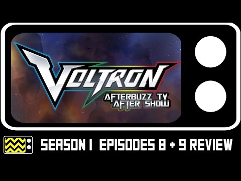 Voltron Legendary Defender Season 1 Episodes 8 & 9 Review w/ Emily Eiden | AfterBuzz TV