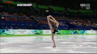 2010 벤쿠버 동계올림픽 김연아 스핀 모음