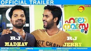 Hello Namasthe Movie Trailer HD - Vinay Forrt, Miya, Bhavana