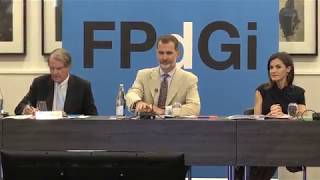 SS.MM. presiden la reunión de Patronato Fundación Princesa de Girona