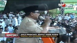 Video Sorotan: Janji Prabowo Jemput Habib Rizieq MP3, 3GP, MP4, WEBM, AVI, FLV Maret 2019