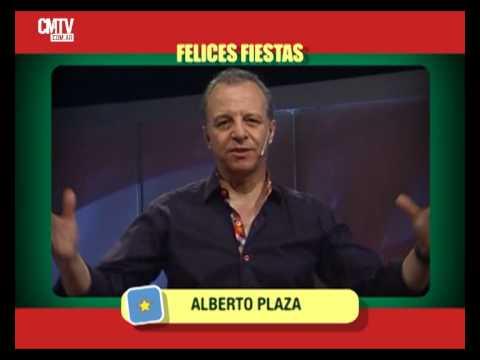 Alberto Plaza video Saludos  - Fiestas 2014/2015