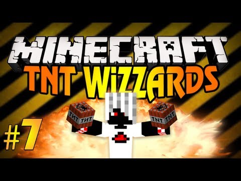 [Minecraft] TNT-Wizzards #7 Клёвая Карта!