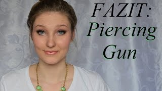 FAZIT: Piercing Pistole | Tipps | TheRealNana - YouTube