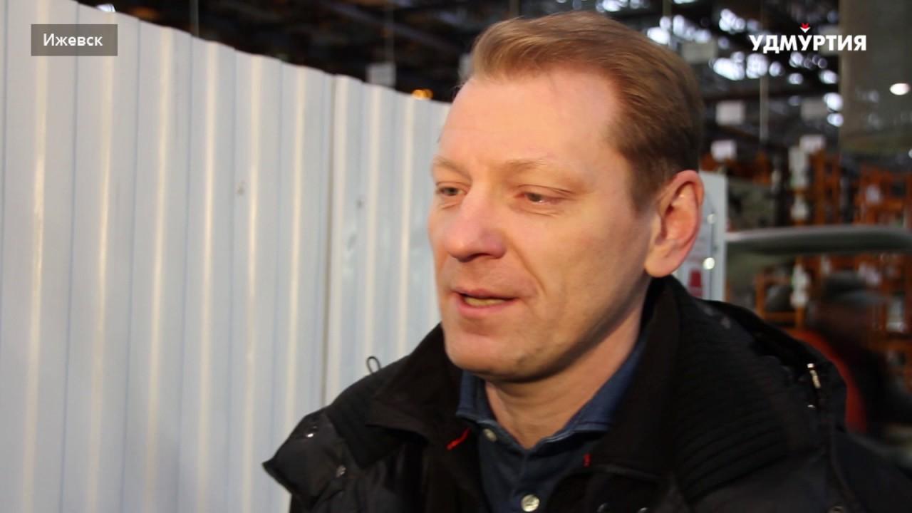 Министр промышленности и торговли Удмуртской Республики Владимир Разумков