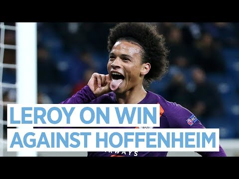 Video: UEFA CHAMPIONS LEAGUE | LEROY LOOKS AHEAD TO LIVERPOOL AFTER VICTORY OVER HOFFENHEIM
