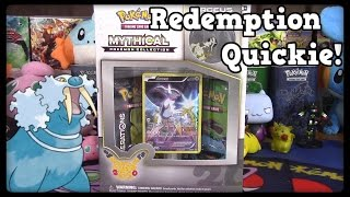 Arceus Mythical Box REDEMPTION QUICKIE!! by Master Jigglypuff and Friends