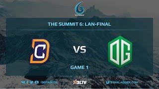 Digital Chaos vs OG, Game 1, The Summit 6, LAN-Final