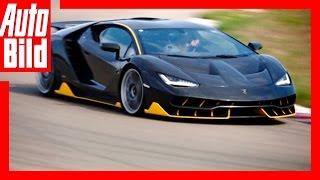 Hypersportler Lamborghini Centenario auf der Rennstrecke - Test/Review by Auto Bild