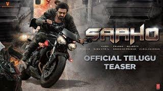 Saaho Official Teaser : Telugu   Prabhas   Shraddha Kapoor