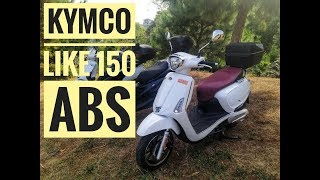 1. Kymco Like 150i ABS Review