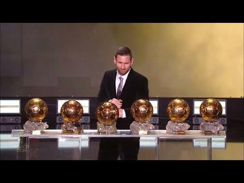 Lionel Messi wins Ballon D'Or 2019 Award HD