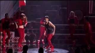 Justin Bieber Beauty and Beat ft.Nicki Minaj American Music Awards 2012 HD