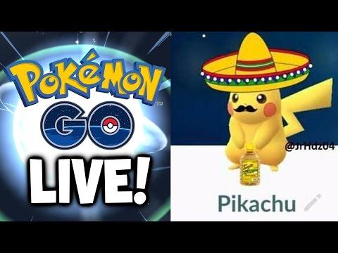 POKEMON GO GAMEPLAY LIVE Q&A / HANGOUT & EVOLUTIONS!