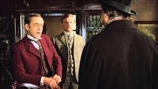 Первая серия фильма «Приключения Шерлока Холмса и доктора Ватсона: Собака Баскервилей». Экранизация одноименной повести Артура Конан-Дойля.
