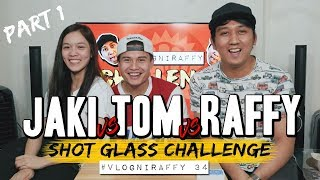 Video SHOT GLASS CHALLENGE with ATE GIRL JACKQUE & HASHTAG TOM (PART 1 OF 2) MP3, 3GP, MP4, WEBM, AVI, FLV Desember 2018