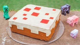 Minecraft Geburtstagskuchen