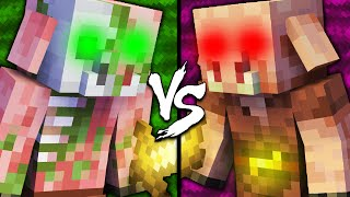 Zombified Piglin vs Piglin - Minecraft
