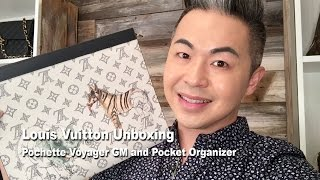 In this episode, Steve (who said he would not buy any Louis Vuitton this year) has given into temptation. The Louis Vuitton Pochette GM and Pocket Organizer ...
